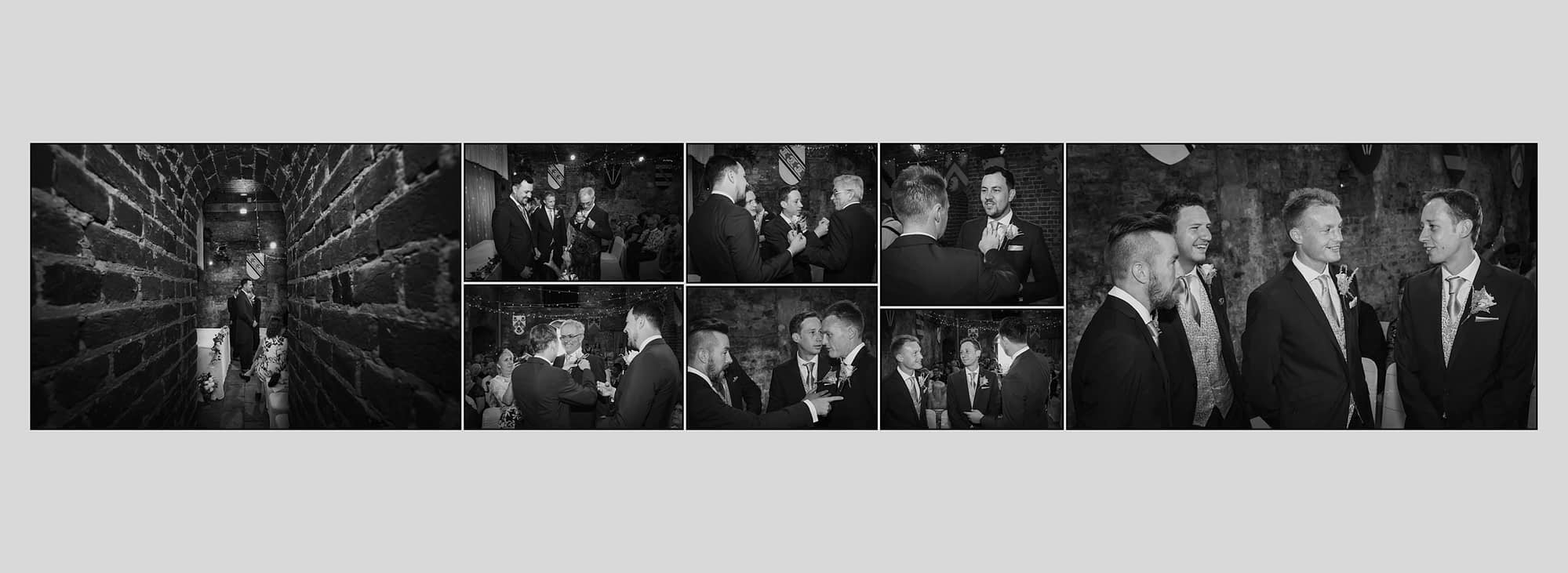men in suits chatting